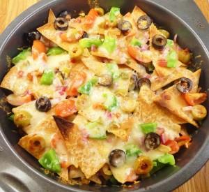 nachos-baked