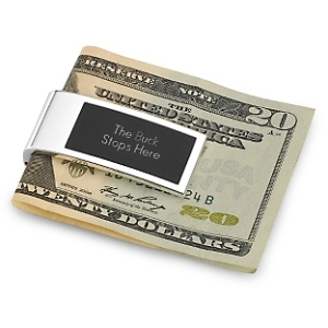 Money clip person