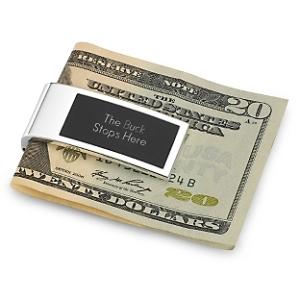 Money clip person